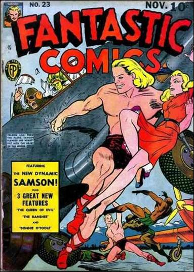 Fantastic Comics (1939) 23-A by Fox