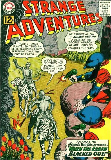 Strange Adventures (1950) 144-A by DC