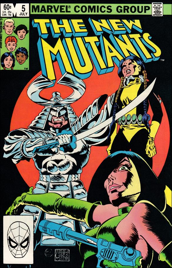New Mutants (1983) 5-A by Marvel