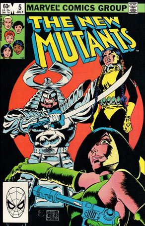 New Mutants (1983) 5-A