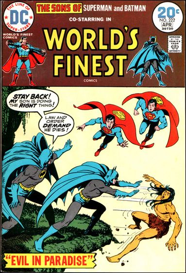 World's Finest Comics 222-A by DC