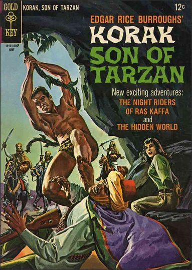 Korak, Son of Tarzan 13-A by DC