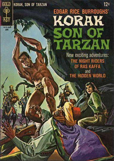 Korak, Son of Tarzan 13-A by DC