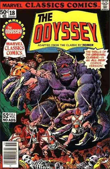 Marvel Classics Comics 18-A by Marvel