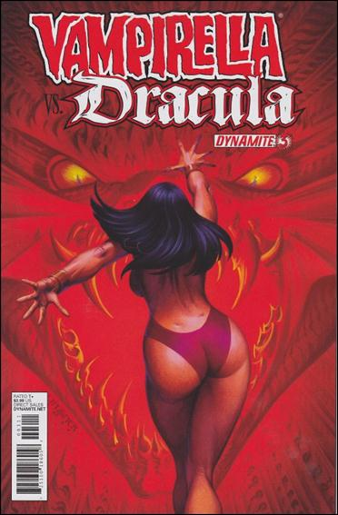Vampirella vs Dracula 3-A by Dynamite Entertainment