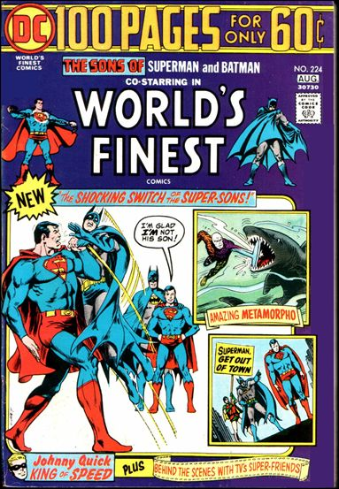 World's Finest Comics 224-A by DC