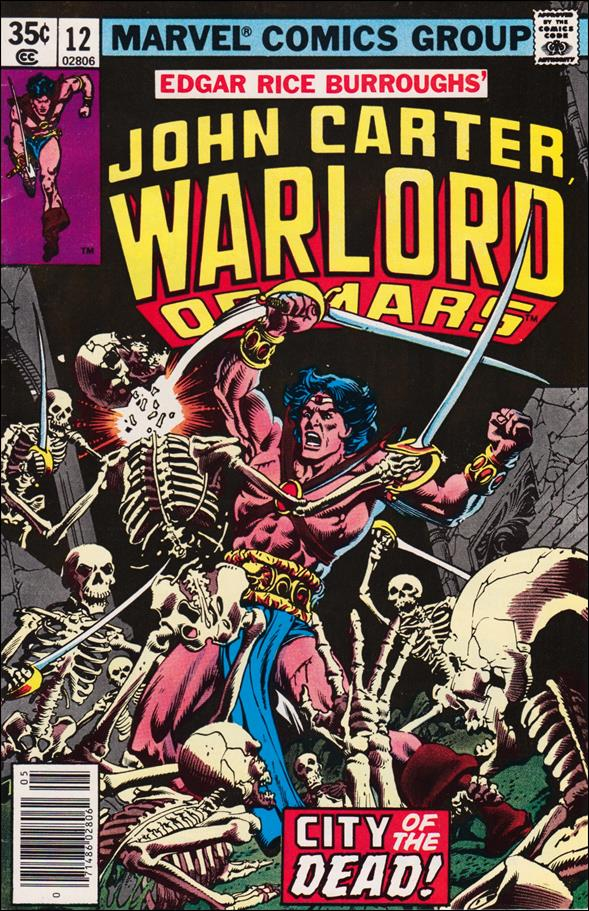 John Carter, Warlord of Mars 12-A by Marvel