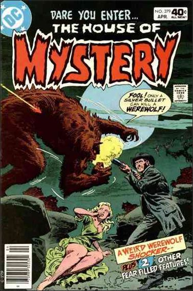 House of Mystery (1951) 279-A by DC