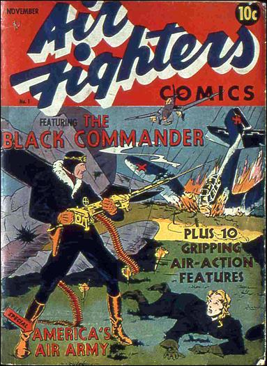 Air Fighters Comics (1941) 1-A by Hillman