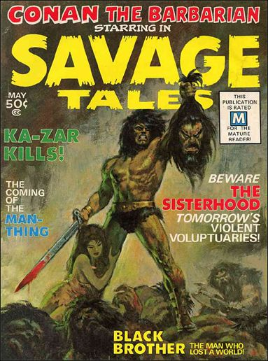 Savage Tales (1971) 1-A by Marvel