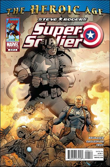 Steve Rogers: Super-Soldier 4-A by Marvel