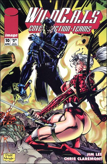 WildC.A.T.s: Covert Action Teams 10-A by Image