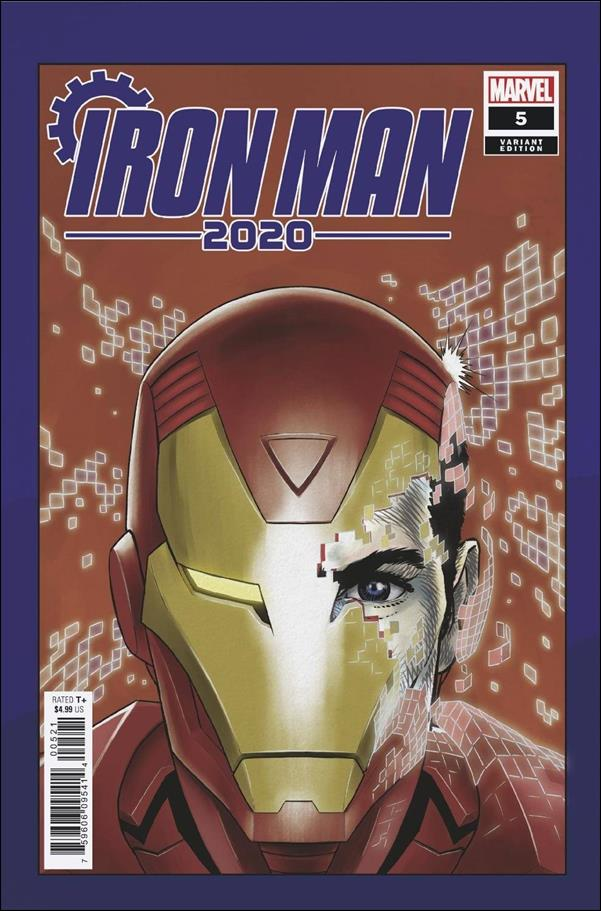 Iron Man 2020 (2020) 5-D by Marvel