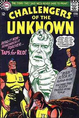 Challengers of the Unknown (1958) 55-A by DC