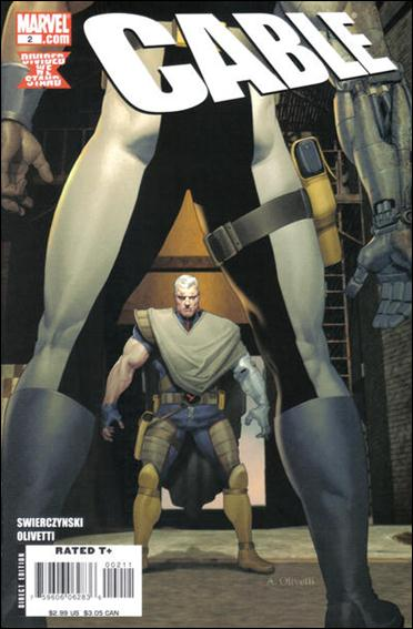 Cable (2008) 2-A by Marvel