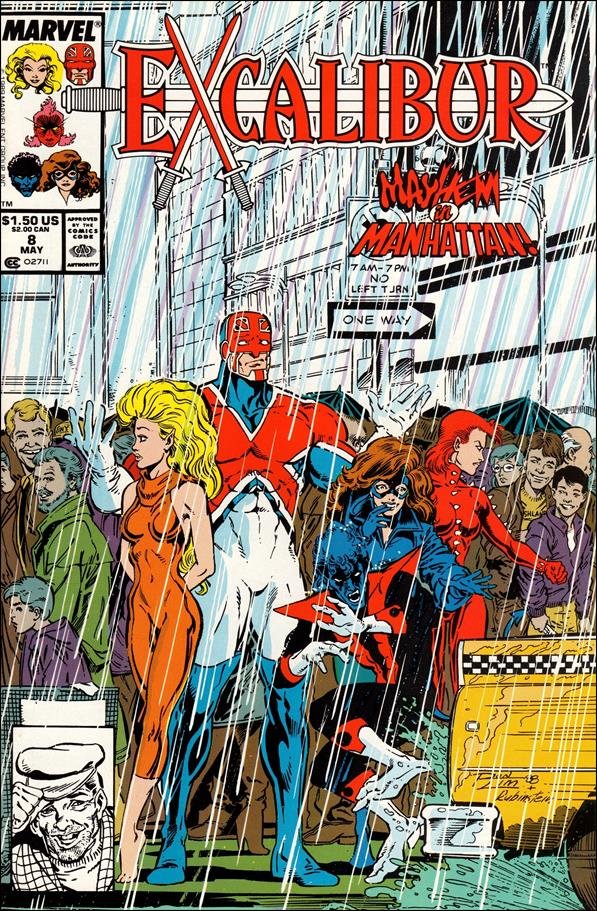 Excalibur (1988) 8-A by Marvel