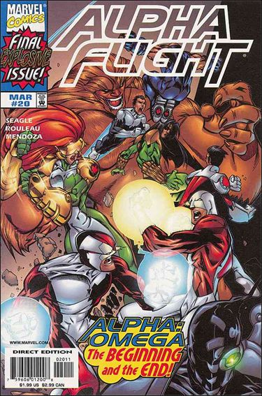 Alpha Flight (1997) 20-A by Marvel