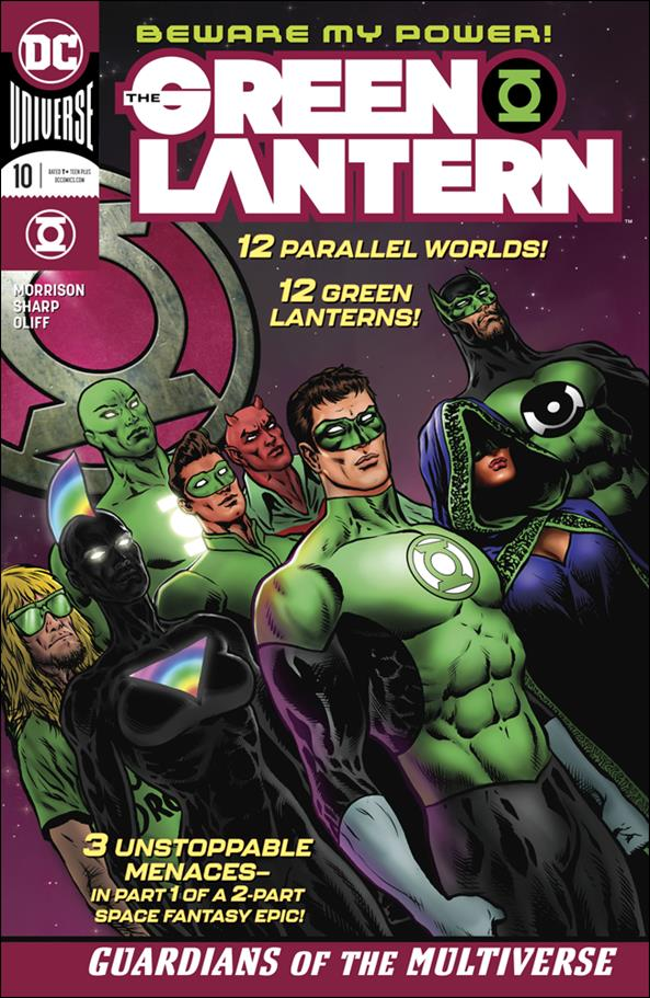 Green Lantern 10 A, Oct 2019 Comic Book by DC