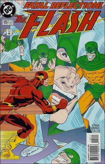 Flash (1987) 105-A by DC