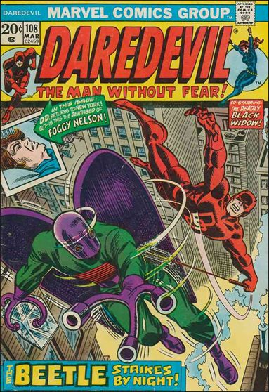 Daredevil (1964) 108-A by Marvel