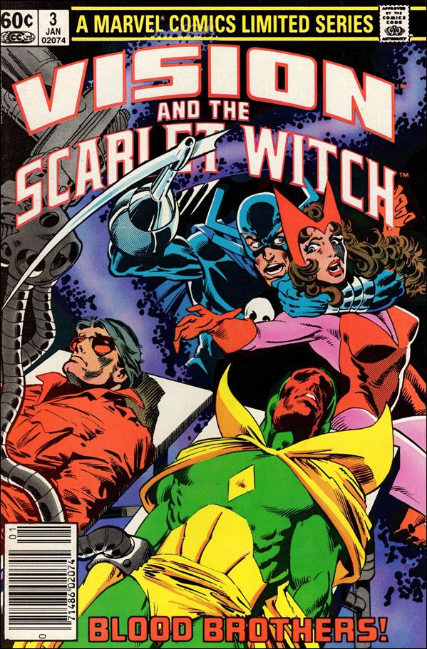 Vision and the Scarlet Witch (1982) 3-A by Marvel