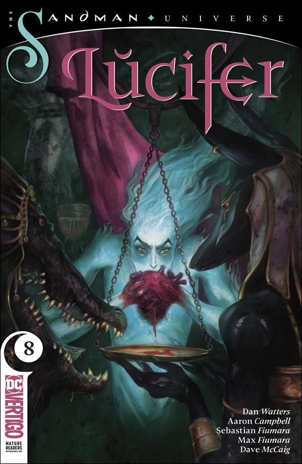 Lucifer (2018) 8-A by Vertigo