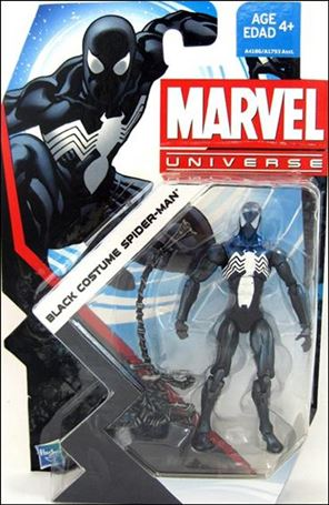 Marvel Universe (Series 5) Black Costume Spider-Man