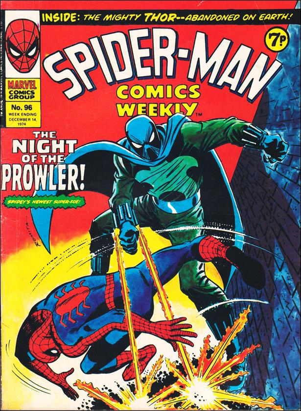 Spider-Man: Comics Weekly (UK) 96-A by Marvel UK