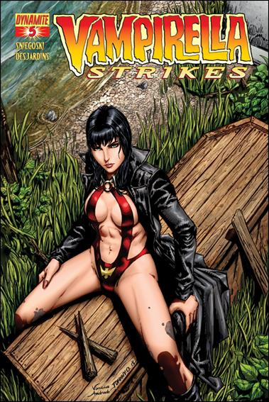 Vampirella Strikes (2013) 5-A by Dynamite Entertainment