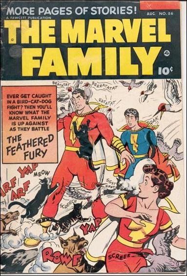 Marvel Family 86-A by Fawcett