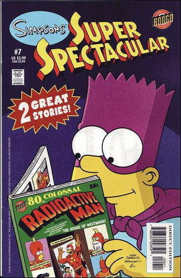 Bongo Comics Presents Simpsons Super Spectacular 7-A by Bongo