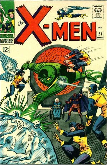 X-Men (1963) 21-A by Marvel