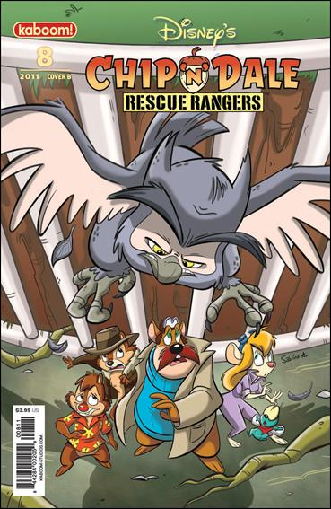 Chip 'n' Dale Rescue Rangers (2010) 8-B by Kaboom!