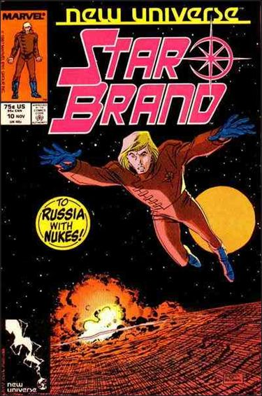 Star Brand 10-A by Marvel