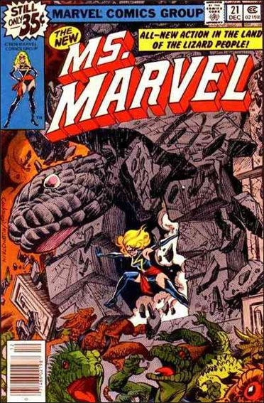 Ms. Marvel (1977) 21-A by Marvel
