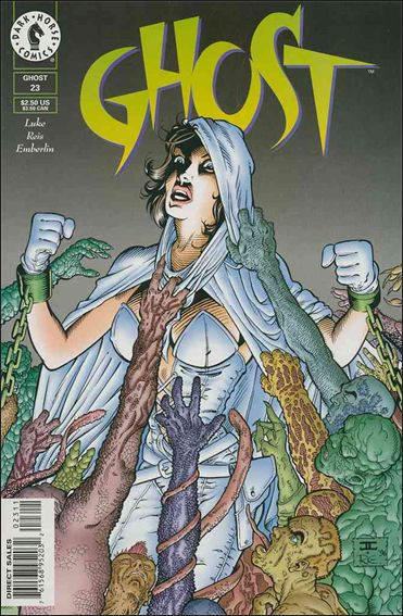 Ghost (1995) 23-A by Dark Horse