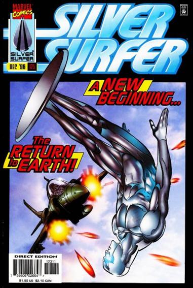 Silver Surfer (1987) 123-A by Marvel