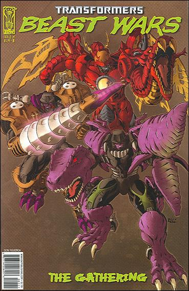 Transformers Beast Wars: The Gathering 1-B by IDW