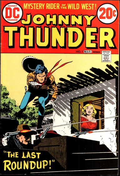 Johnny Thunder 1-A by DC