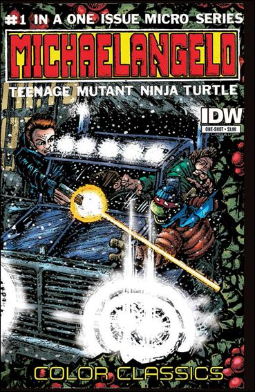 Teenage Mutant Ninja Turtles Color Classics: Michaelangelo Micro-Series One-Shot  1-A by IDW