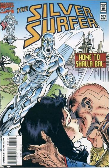 Silver Surfer (1987) 101-A by Marvel