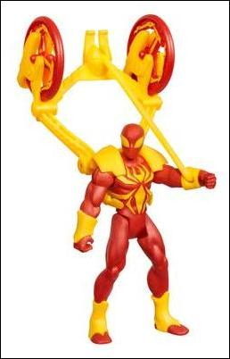 Ultimate Spider-Man (Power Webs) Catapult Smash Iron Spider-Man (Loose) by Hasbro