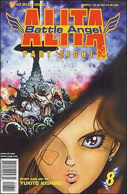 Battle Angel Alita Part 8 8-A by Viz