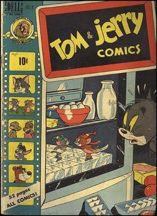 Tom & Jerry Comics 72-A