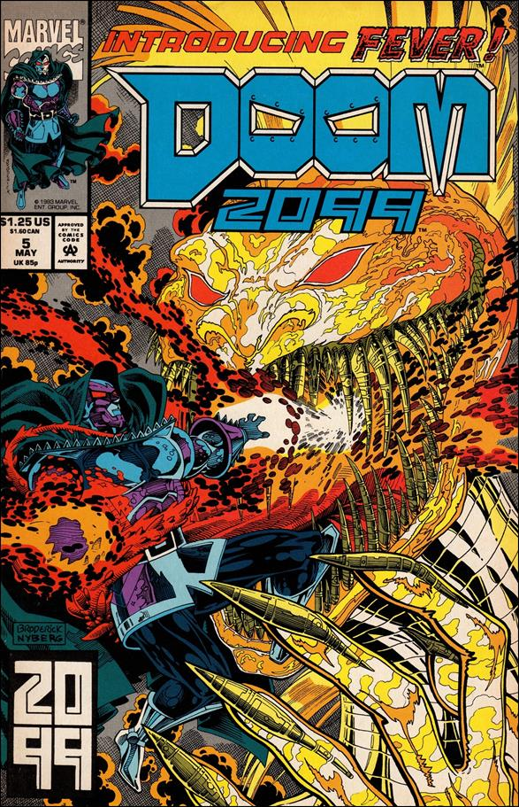 Doom 2099 5-A by Marvel