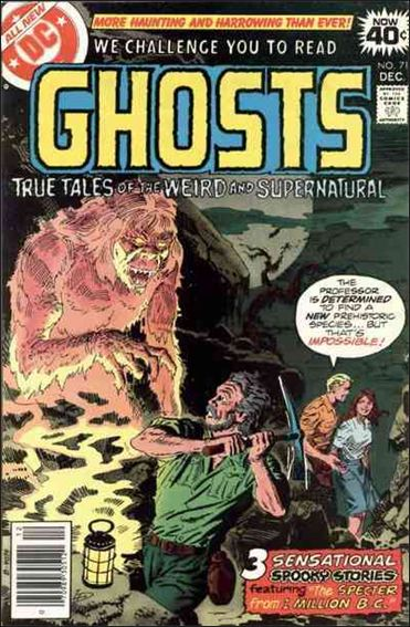 Ghosts (1971) 71-A by DC