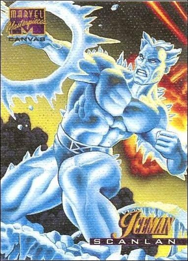1995 Marvel Masterpieces (Canvas Subset) 10-A by Fleer
