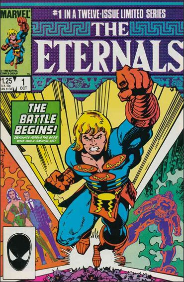 Eternals (1985) 1-A by Marvel