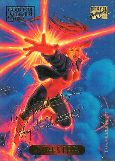 1994 Marvel Masterpieces (Gold-Foil Signature Parallel Base Set) 38-A by Fleer