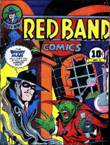 Red Band Comics 1-A by Rural Home Publ. Co.